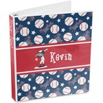 Baseball 3-Ring Binder (Personalized)