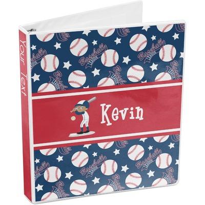 Baseball 3-Ring Binder (Personalized)