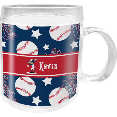 Baseball Acrylic Kids Mug (Personalized)