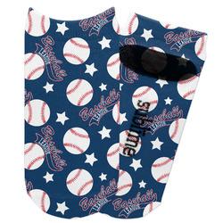 Baseball Adult Ankle Socks (Personalized)