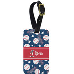 Baseball Aluminum Luggage Tag (Personalized)