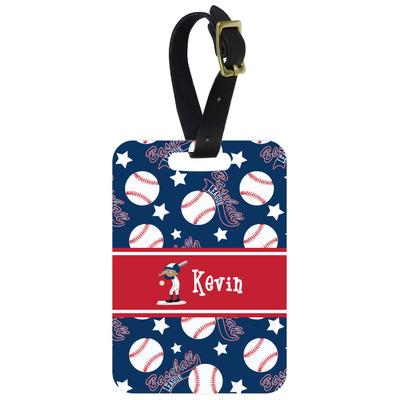 Baseball Aluminum Luggage Tag (Personalized)