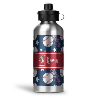 Baseball Water Bottle - Aluminum - 20 oz (Personalized)