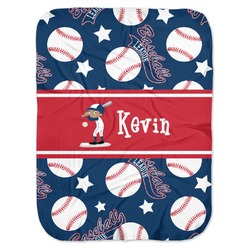 Baseball Baby Swaddling Blanket (Personalized)