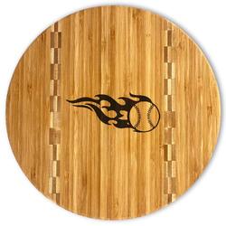 Baseball Bamboo Cutting Board (Personalized)
