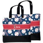 Baseball Beach Tote Bag (Personalized)