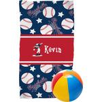 Baseball Beach Towel (Personalized)