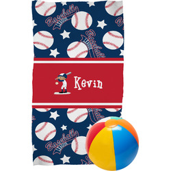Baseball Beach Towel (Personalized)