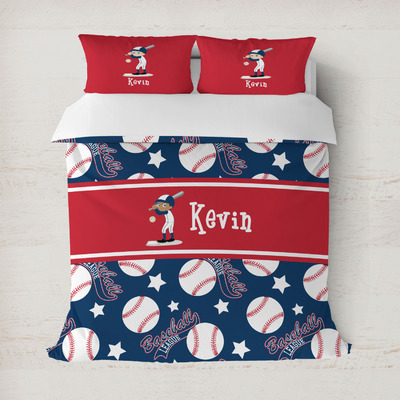 Baseball Duvet Cover (Personalized)