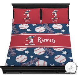 Baseball Duvet Cover Set (Personalized)