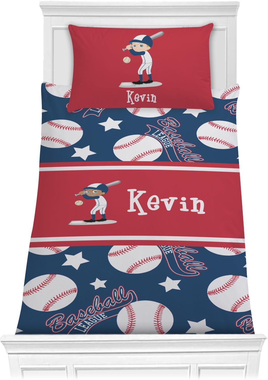 Baseball Comforter Set Twin Xl Personalized