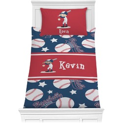 Baseball Comforter Set - Twin (Personalized)