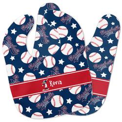 Baseball Baby Bib w/ Name or Text
