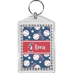Baseball Bling Keychain (Personalized)