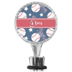 Baseball Wine Bottle Stopper (Personalized)