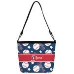 Baseball Bucket Bag w/ Genuine Leather Trim (Personalized)