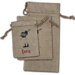 Baseball Burlap Gift Bags (Personalized)