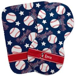 Baseball Burp Cloth (Personalized)