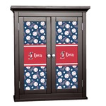Baseball Cabinet Decal - Custom Size (Personalized)