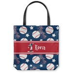 Baseball Canvas Tote Bag (Personalized)