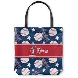 Baseball Canvas Tote Bag (Personalized)