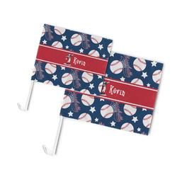 Baseball Car Flag (Personalized)