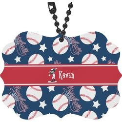 Baseball Rear View Mirror Charm (Personalized)