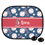 Baseball Car Side Window Sun Shade (Personalized)