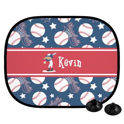 Baseball Car Side Window Sun Shade (Personalized)