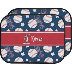 Baseball Car Floor Mats (Back Seat) (Personalized)