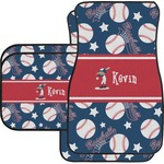 Baseball Car Floor Mats (Personalized)