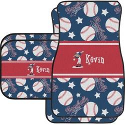 Baseball Car Floor Mats (Personalized)