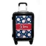 Baseball Carry On Hard Shell Suitcase (Personalized)