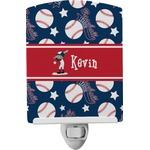 Baseball Ceramic Night Light (Personalized)