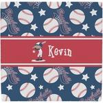 Baseball Ceramic Tile Hot Pad (Personalized)
