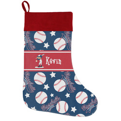Baseball Holiday / Christmas Stocking (Personalized)