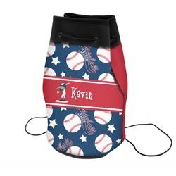 Baseball Neoprene Drawstring Backpack (Personalized)