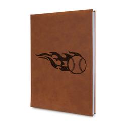 Baseball Leatherette Journal (Personalized)