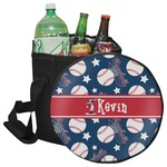 Baseball Collapsible Cooler & Seat (Personalized)
