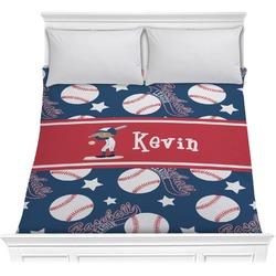 Baseball Comforter (Personalized)