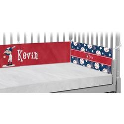 Baseball Crib Bumper Pads (Personalized)