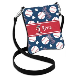 Baseball Cross Body Bag - 2 Sizes (Personalized)