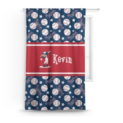 Baseball Curtain (Personalized)