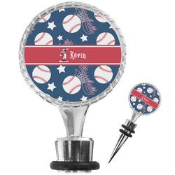 Baseball Wine Bottle Stopper (Personalized)