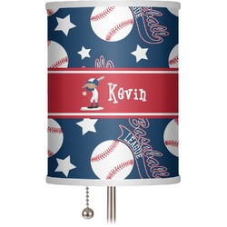 "Baseball 7"" Drum Lamp Shade (Personalized)"