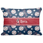 "Baseball Decorative Baby Pillowcase - 16""x12"" (Personalized)"