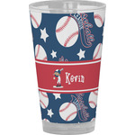 Baseball Drinking / Pint Glass (Personalized)