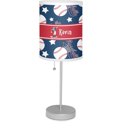"Baseball 7"" Drum Lamp with Shade (Personalized)"