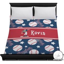 Baseball Duvet Cover (Personalized)