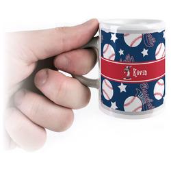 Baseball Espresso Mug - 3 oz (Personalized)